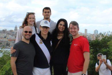 Lauder students in Cuba LIV