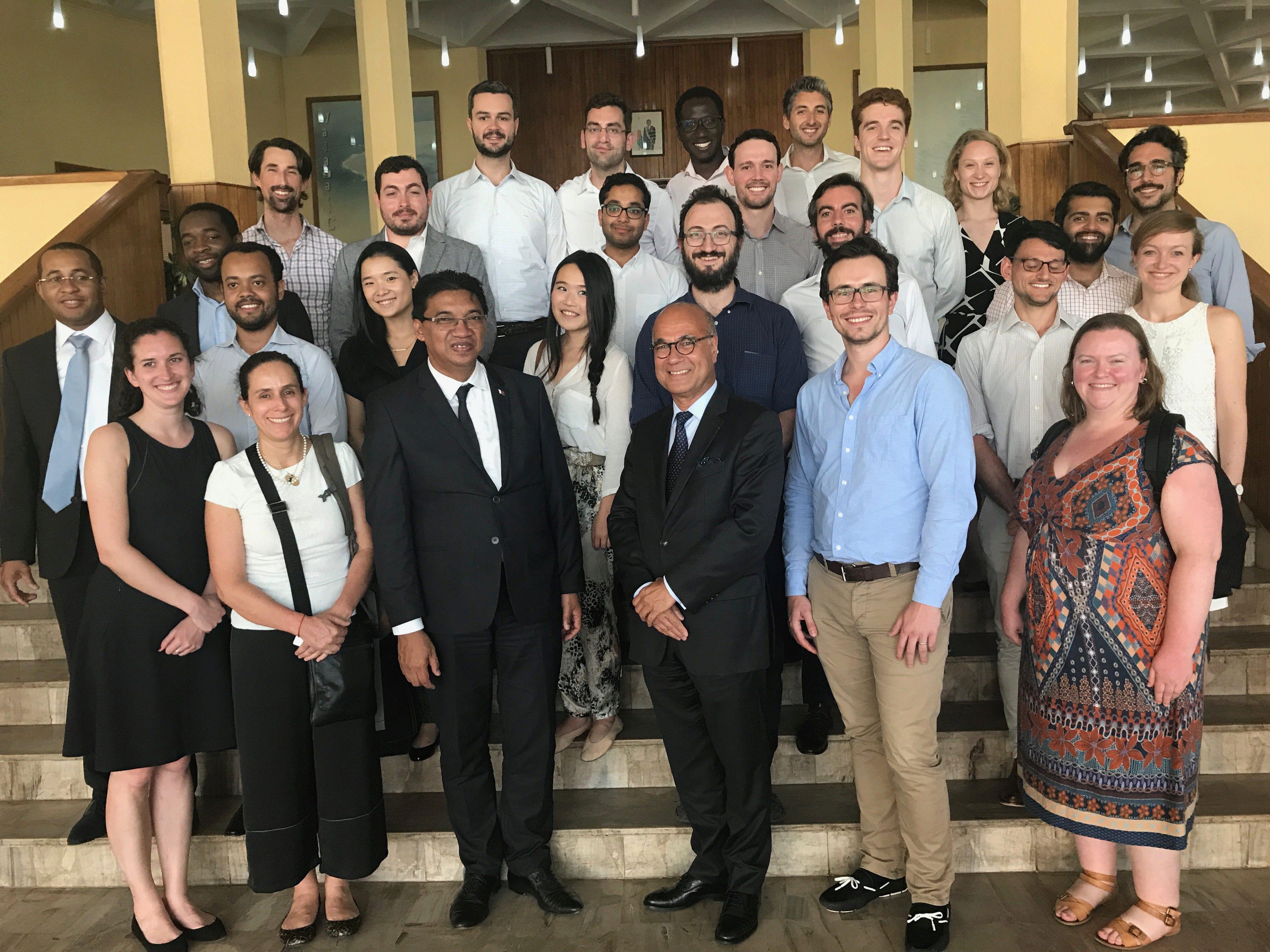 Lauder students on Madagascar LIV