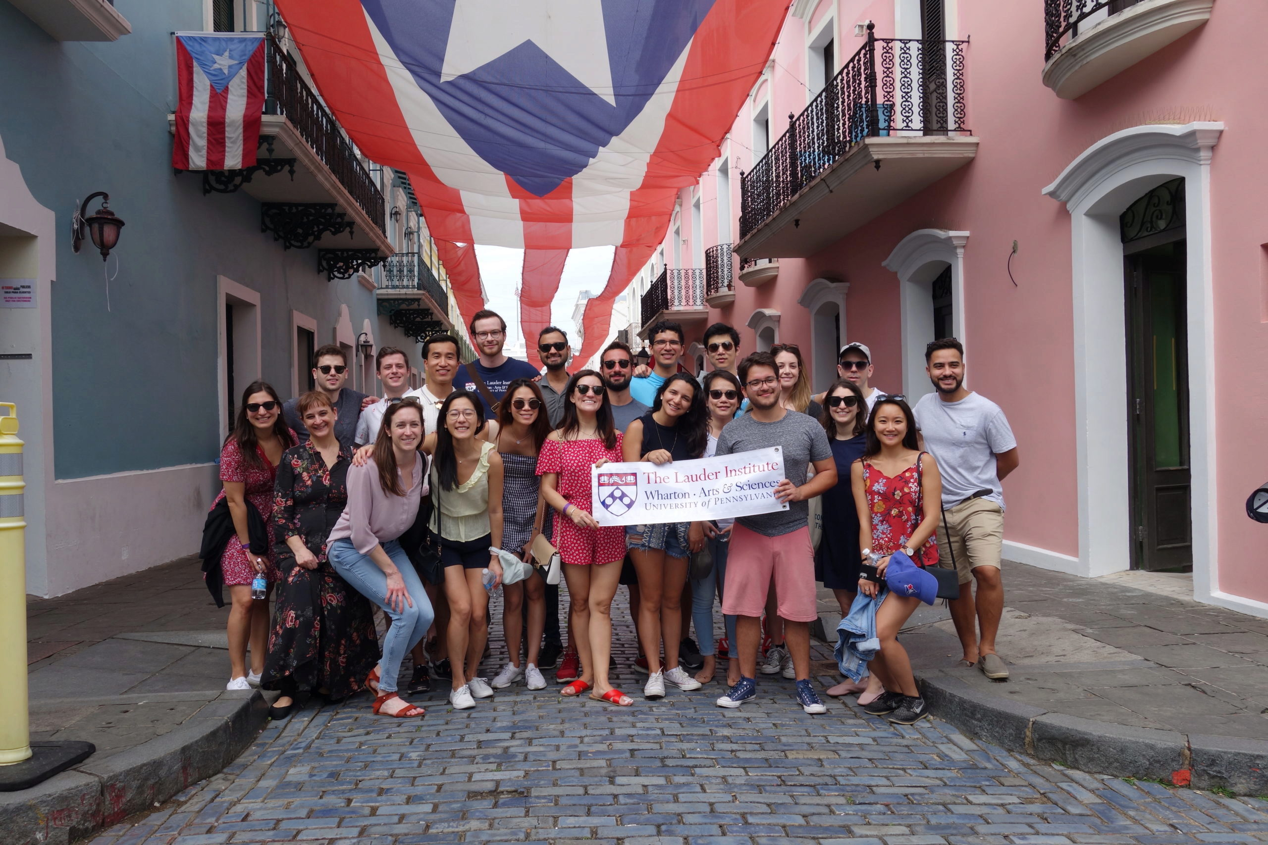 Lauder students attend LIV in Puerto Rico 2020
